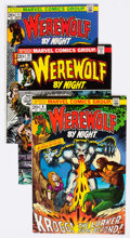 Bronze Age (1970-1979):Horror, Werewolf by Night Group of 16 (Marvel, 1973-77) Condition: Average VF.... (Total: 16 Comic Books)