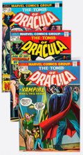 Bronze Age (1970-1979):Horror, Tomb of Dracula Group of 24 (Marvel, 1974-77) Condition: AverageVF+.... (Total: 24 Comic Books)
