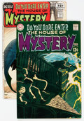 Silver Age (1956-1969):Horror, House of Mystery #179 and 195 Group (DC, 1969-71) Condition:Average VF.... (Total: 2 Comic Books)