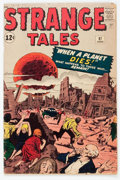 Silver Age (1956-1969):Horror, Strange Tales #97 (Marvel, 1962) Condition: VG-....
