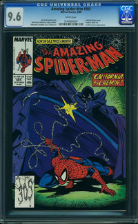 The Amazing Spider-Man #305 (Marvel, 1988) CGC NM+ 9.6 White pages