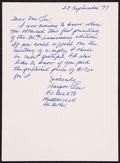 Books:Literature 1900-up, Harper Lee. To Kill a Mockingbird. [New York]: [1995].Thirty-fifth anniversary edition, with autograph letter, ...(Total: 2 Items)