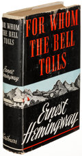 Books:Literature 1900-up, Ernest Hemingway. For Whom the Bell Tolls. New York: 1940.First edition....