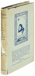 Books:Children's Books, [Rockwell Kent]. Architec-tonics: The Tales of ThomThumtack, Architect. New York: 1914. First edition....