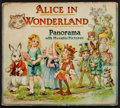 Books:Children's Books, [Lewis Carroll]. Alice in Wonderland Panorama with MovablePictures. London: [circa 1900]....