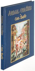 Books:Children's Books, Carl Barks. Animal Quackers. Timonium: [1996]. Firstedition, limited, signed lithograph....
