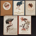 Books:Art & Architecture, [Harrison Fisher, illustrator]. Lot of Five Illustrated First Editions. New York: 1907-1911. One inscribed by Fisher, one in... (Total: 5 Items)