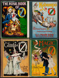 Books:Children's Books, [L. Frank Baum]. Group of Four Oz Books. Chicago: [1919]-[1922].First editions. One in dust jacket.... (Total: 4 Items)