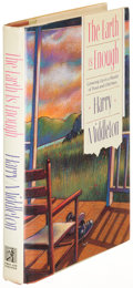 Books:Fiction, Harry Middleton. The Earth Is Enough. New York: [1989].First edition of the author's first book. Inscribed to a...