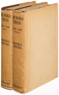 Books:World History, Winston S. Churchill. The World Crisis. New York: 1927. First edition.... (Total: 2 Items)