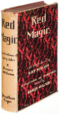 Books:Children's Books, Kay Nielsen, illustrator. Red Magic. London: Jonathan Cape,[1930]. First edition....
