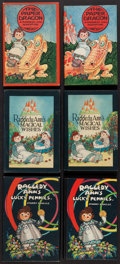 Books:Children's Books, Johnny Gruelle. Group of Three Raggedy Ann Books. New York:[1926-1932]. First editions.... (Total: 3 Items)