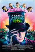 "Movie Posters:Comedy, Charlie and the Chocolate Factory & Other Lot (Warner Brothers, 2005). One Sheets (2) (27"" X 40"") DS Advance. Comedy.. ... (Total: 2 Items)"