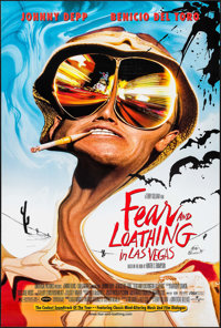 "Fear and Loathing in Las Vegas (Universal, 1998). One Sheet (26.75"" X 39.75"") DS. Adventure"
