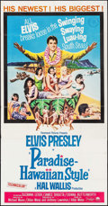 "Movie Posters:Elvis Presley, Paradise -- Hawaiian Style (Paramount, 1966). Three Sheet (41"" X79""). Elvis Presley.. ..."