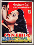 """Movie Posters:Comedy, Cynthia (MGM, 1949). Trimmed Belgian (14.5"""" X 18.5""""). Comedy.. ..."""