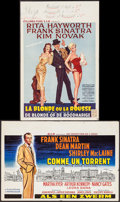 """Movie Posters:Drama, Some Came Running & Other Lot (MGM, 1959). Belgians (2) (14.5""""X 22""""). Drama.. ... (Total: 2 Items)"""