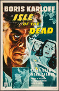 """Movie Posters:Horror, Isle of the Dead (RKO, R-1953). One Sheet (27"""" X 41""""). Horror.. ..."""