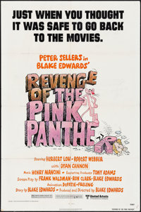 "Revenge of the Pink Panther (United Artists, 1978). One Sheet (27"" X 41"") & Uncut Pressbook (20 Pages, 11&..."