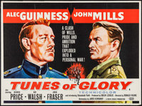 "Tunes of Glory & Other Lot (United Artists, 1960). British Quad (30"" X 40"") & Photo (8"" X 10""..."