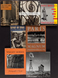 Books:Photography, [Photography]. Group of Seven Photography Books. [Various: 1936-2006]. Mainly first editions.. ... (Total: 7 Items)