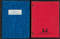 Books:Literature 1900-up, [Screenplays]. Larry McMurtry. Two Photocopied Screenplays Based onMcMurtry's Novels. [Various]: 1968-1982. Various drafts.... (Total:2 Items)