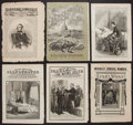 Miscellaneous:Newspaper, 6 Illustrated Newspapers: Including 1 Harper's and 5 FrankLeslie's....