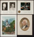 Political:Small Paper (1896-present), [Dwight D. Eisenhower]. Group Lot of 7 Christmas Cards.... (Total: 7 Items)