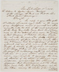 Autographs:Military Figures, Benjamin F. Butler Autograph Letter Signed....