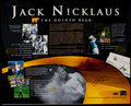 Autographs:Photos, Jack Nicklaus Signed Oversized Photograph. ...