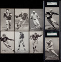 Football Cards:Sets, 1948-52 W468 Football Exhibit Complete Set (59)....