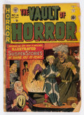 Golden Age (1938-1955):Horror, Vault of Horror #14 (EC, 1950) Condition: FR/GD....