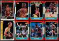 Basketball Cards:Lots, 1986-88 Fleer Basketball Stars & HoFers Collection (8)....