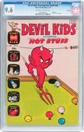 Bronze Age (1970-1979):Humor, Devil Kids Starring Hot Stuff #44 File Copy (Harvey, 1970) CGC NM+9.6 Off-white to white pages....