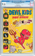 Bronze Age (1970-1979):Humor, Devil Kids Starring Hot Stuff #45 File Copy (Harvey, 1970) CGC NM+9.6 Off-white pages....