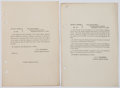 Miscellaneous:Ephemera, Printed General Orders Nos. 309 & 253 Regarding Union GeneralGeorge Ramsay.... (Total: 2 Items)