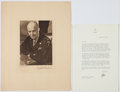 Autographs:U.S. Presidents, Dwight D. Eisenhower: Typed Letter Signed with Bonus.... (Total: 2Items)