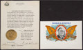 Autographs:U.S. Presidents, Franklin D. Roosevelt: Typed Document Signed as Governor....(Total: 2 Items)