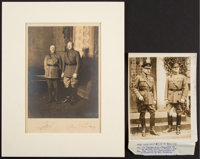 General John J. Pershing: Two Period Photographs