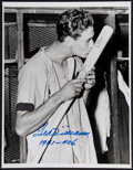 Autographs:Celebrities, Ted Williams Signed Photograph....