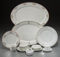 Ceramics & Porcelain, American:Modern  (1900 1949)  , A Seventy-One Piece Assembled Group of Ceramic Dishes, 20thcentury. Marks: (various marks). 17-7/8 inches wide (45.4 cm) (...(Total: 71 Items)