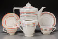 Ceramics & Porcelain, British:Modern  (1900 1949)  , A Twenty-Six Piece Assembled Art Deco Ceramic Partial CoffeeService, circa 1930-1940. Marks: (various marks). 9-1/2 inches ...(Total: 26 Items)