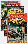 Bronze Age (1970-1979):Horror, Tomb of Dracula Group of 7 (Marvel, 1972-74) Condition: AverageVF.... (Total: 7 Comic Books)