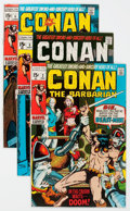 Bronze Age (1970-1979):Adventure, Conan the Barbarian #2 and 5-10 Group (Marvel, 1970-71) Condition: Average VF/NM.... (Total: 7 Comic Books)