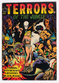 Golden Age (1938-1955):Horror, Terrors of the Jungle #17 (#1) (Star Publications, 1952) Condition:VG+....