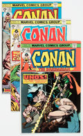 Bronze Age (1970-1979):Adventure, Conan the Barbarian Group of 111 (Marvel, 1975-82) Condition: Average VF/NM.... (Total: 111 Comic Books)