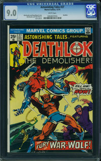 Astonishing Tales #27 (Marvel, 1974) CGC VF/NM 9.0 White pages