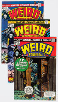 Bronze Age (1970-1979):Horror, Weird Wonder Tales Group of 12 (Marvel, 1977) Condition: Average FN.... (Total: 12 Items)