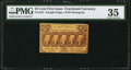 Fractional Currency:First Issue, Fr. 1281 25¢ First Issue PMG Choice Very Fine 35.. ...