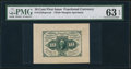 Fractional Currency:First Issue, Fr. 1243SP 10¢ First Issue Wide Margin Face PMG Choice Uncirculated 63 EPQ.. ...